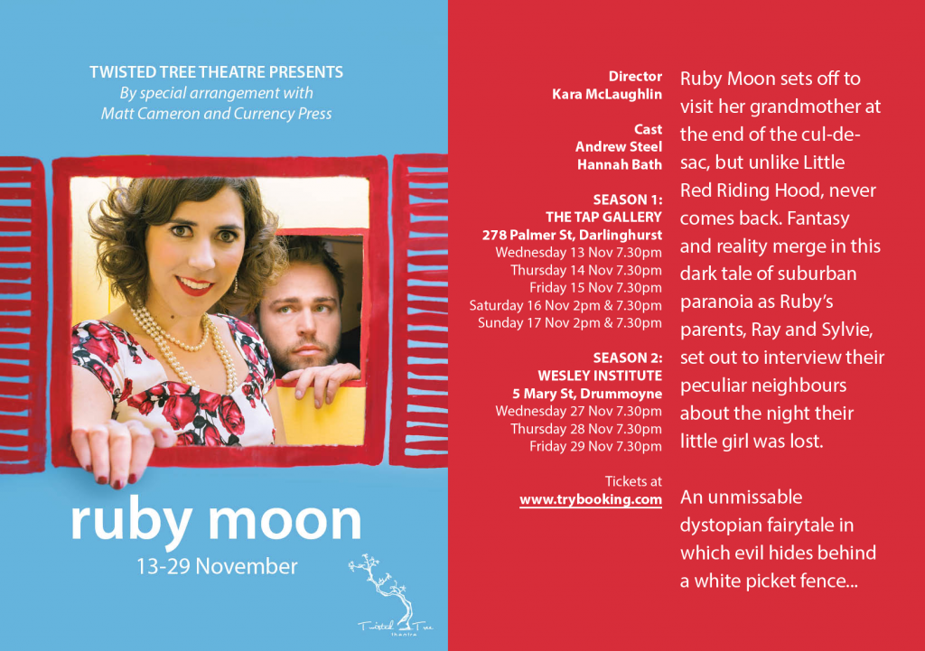 Ruby moon matt cameron essay