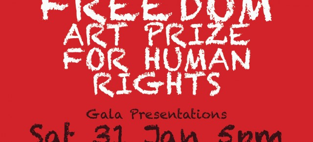 FREEDOM ART PRIZE every January. Dates for 2017 yet to be announced.
