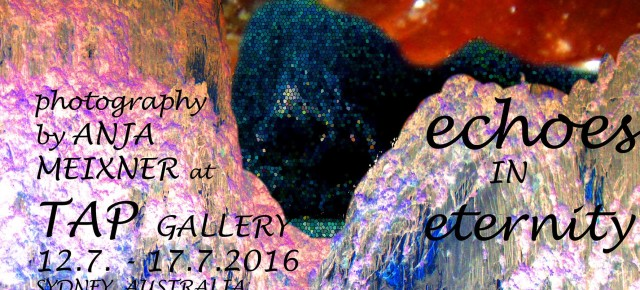 Anja Meixner Photography exhibition 12 - 17 July. Meet the artist Tuesday 12th July 6-8.30pm