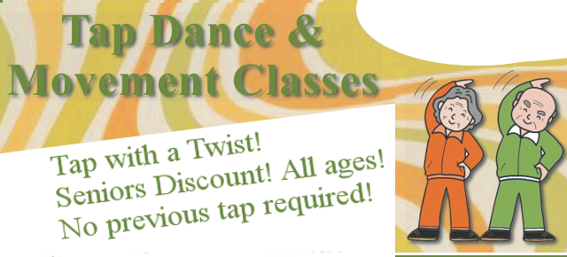 TAP DANCE & MOVEMENT CLASSES! SOMETHING NEW & EXCITING FOR ALL AGES STARTS SAT 28TH AT 10.30AM!!!!!