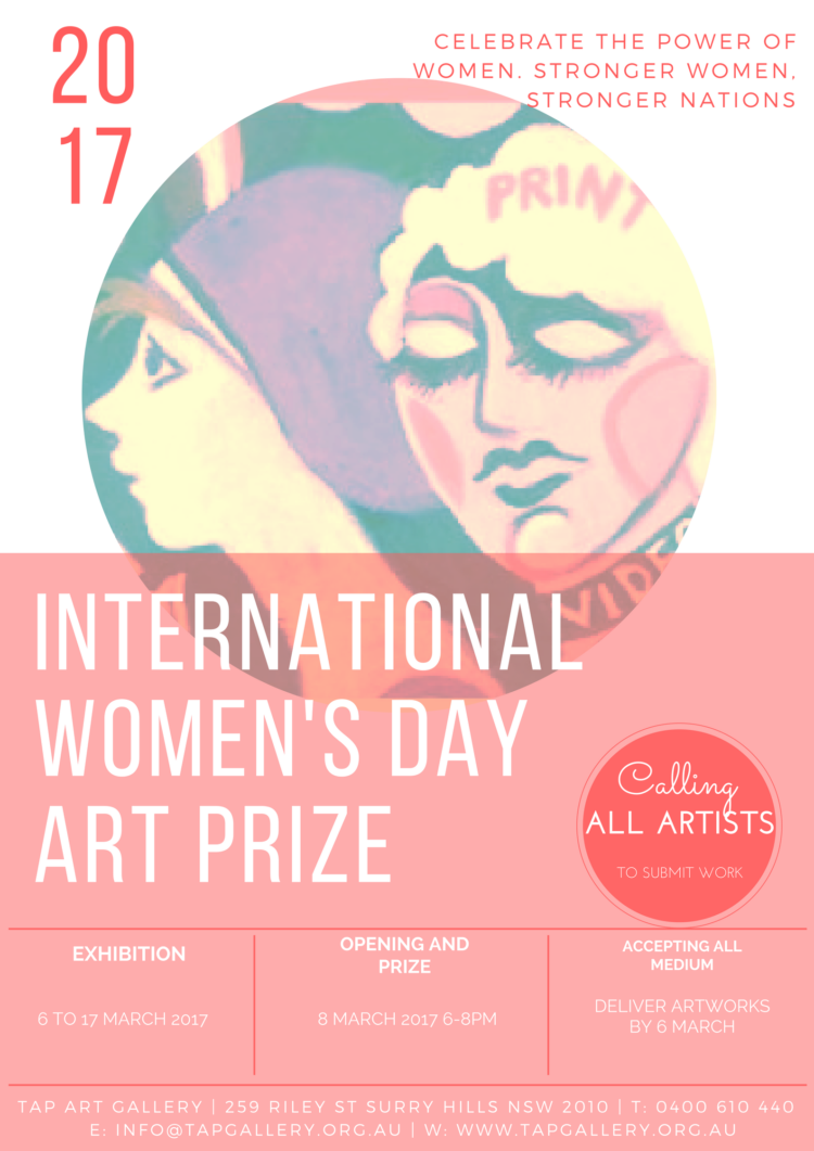 INTERNATIONAL WOMENS DAY ART PRIZE 2017
