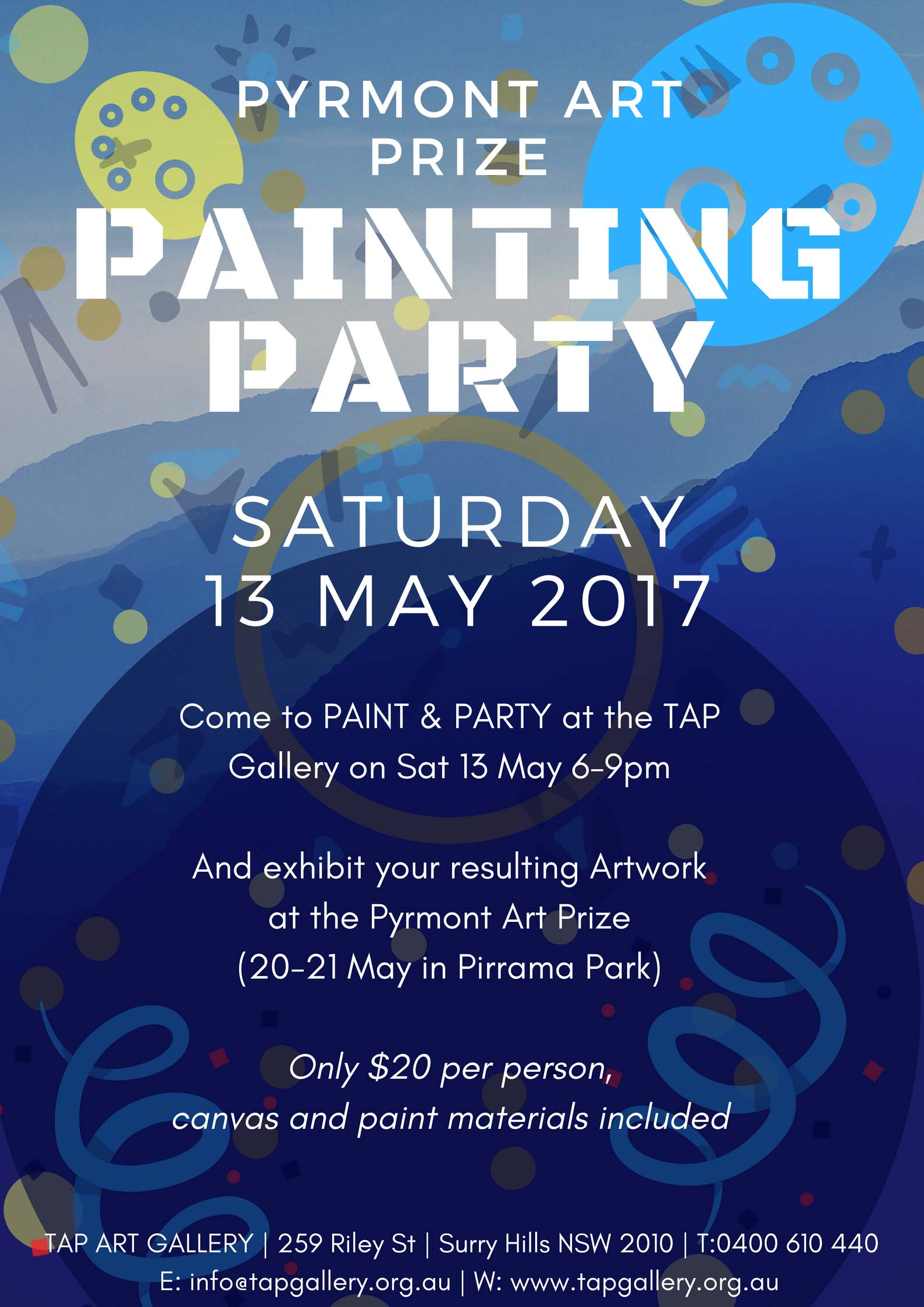 Pyrmont Painting Party copy