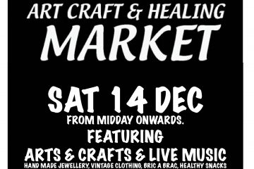 xmas market at tap gallery 14dec sat