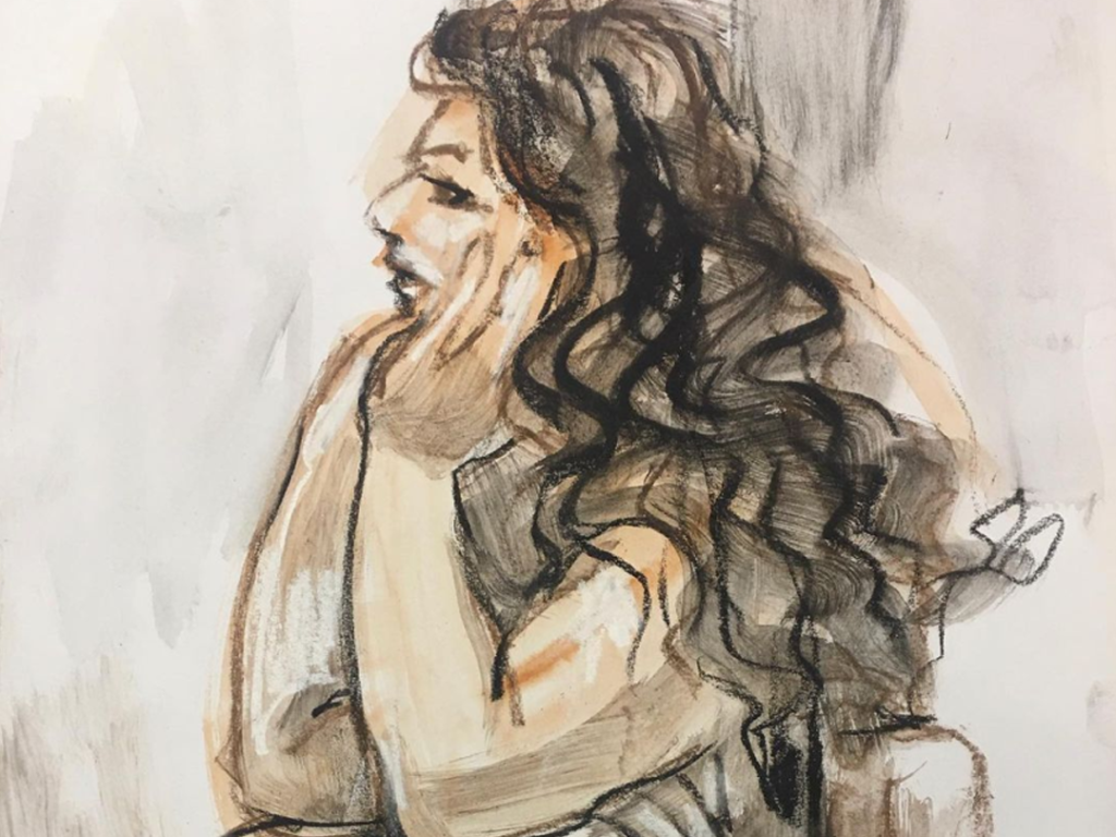 Life drawing by Lesley Dimmick