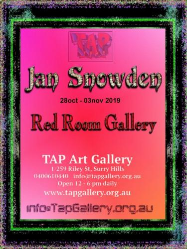 Jan Snowdon show at TapGallery